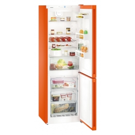 Liebherr Freestanding Fridge Freezer (Orange)